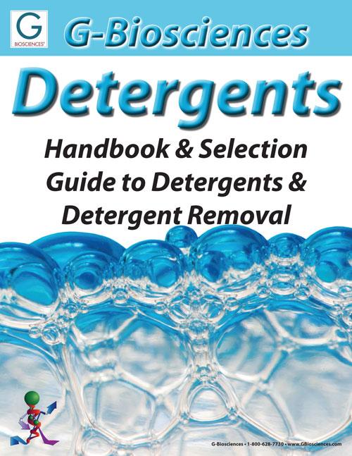 Detergent and Detergent Removal Handbook