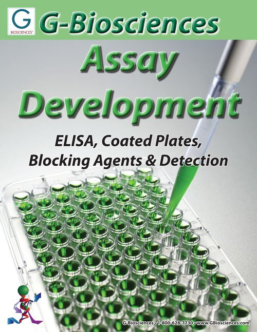 elisa assay development Custom elisas elisa assays are assays where there is a need to measure the presence and amount of an antibody to a particular molecule these circulating antibodies.
